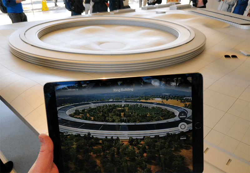 Apple HQ augmented reality