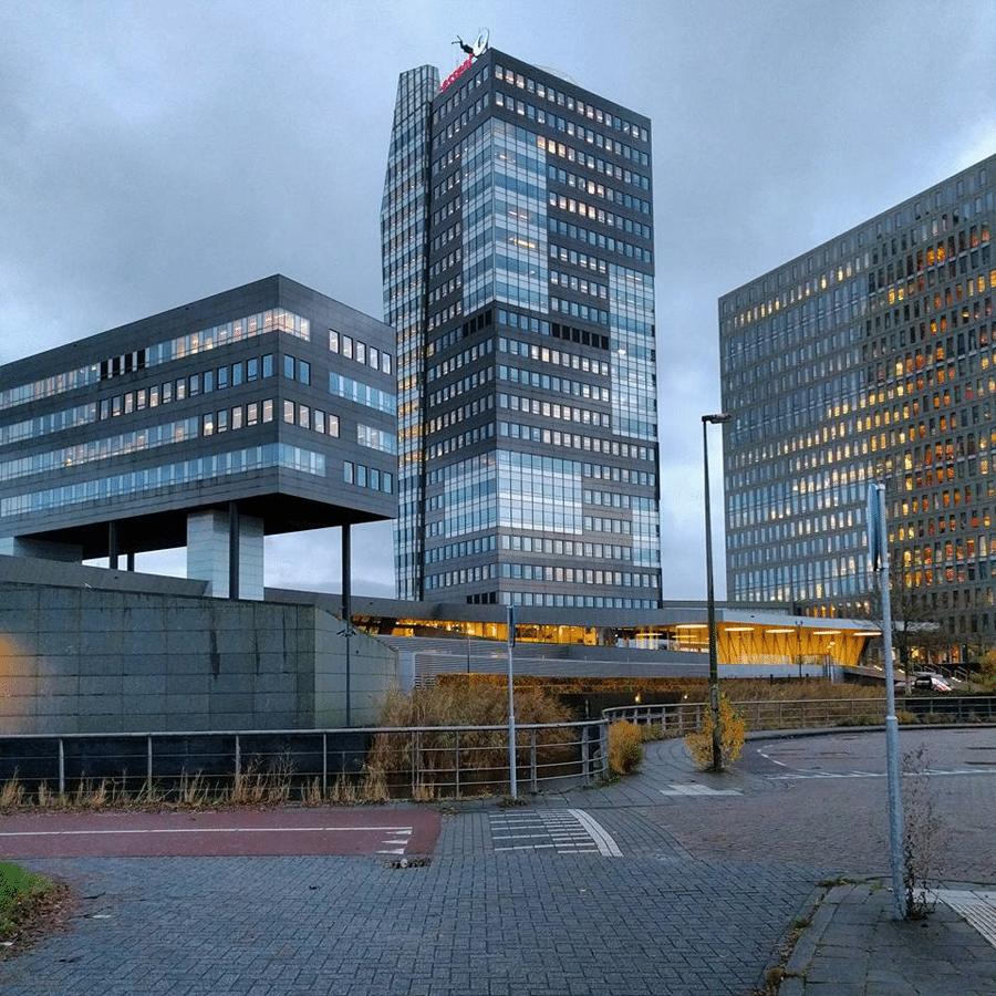 Het kantoor van Essent in Zwolle.