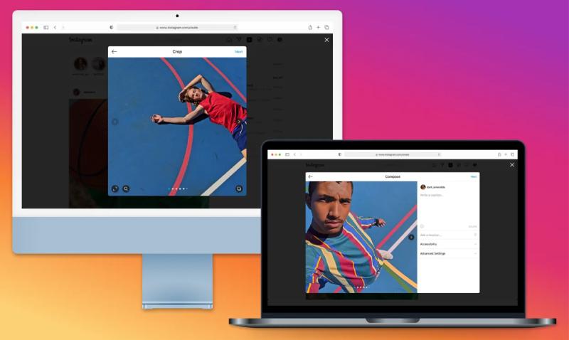 Je kunt eindelijk foto's en video's op Instagram plaatsen via je desktop