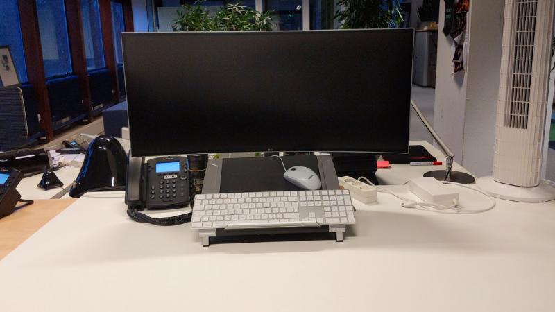 Mijn laatste dag op kantoor is vandaag exact één jaar geleden