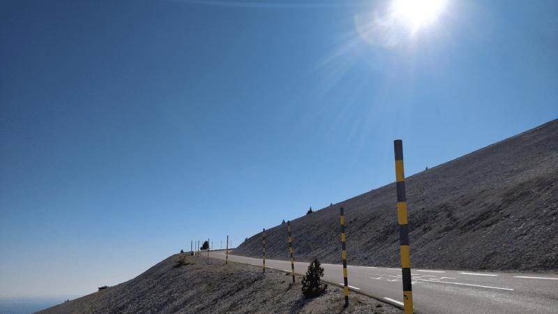 Mont Ventoux's maanlandschap