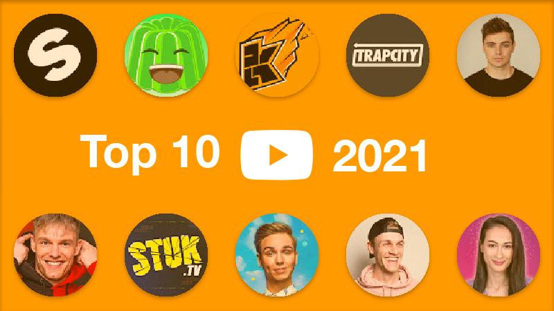 Top 10 grootste YouTubers van Nederland in 2021