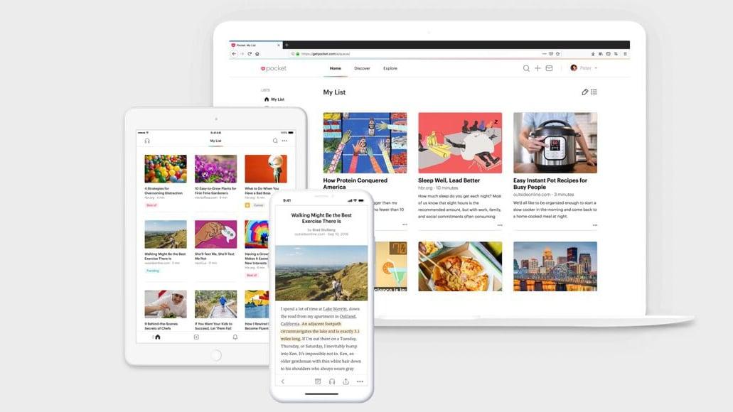 Pocket: de ideale dienst voor het later lezen van online artikelen