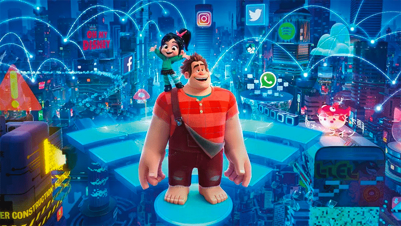 Filmreview: Ralph Breaks the Internet (Wreck-It Ralph 2)
