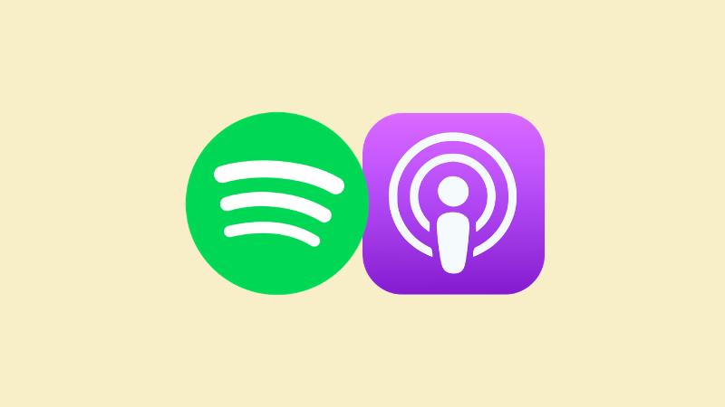 Betaalde podcasts bij Spotify en Apple: een vergelijking
