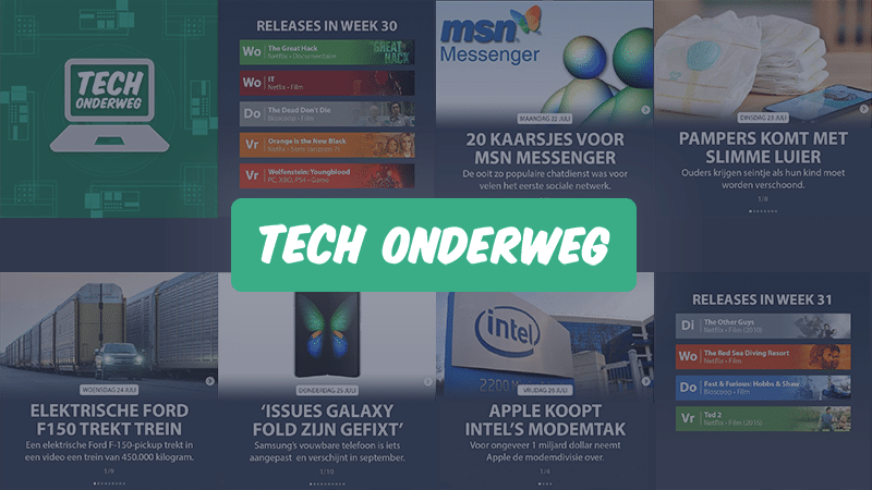 Tech Onderweg: techupdates via Instagram