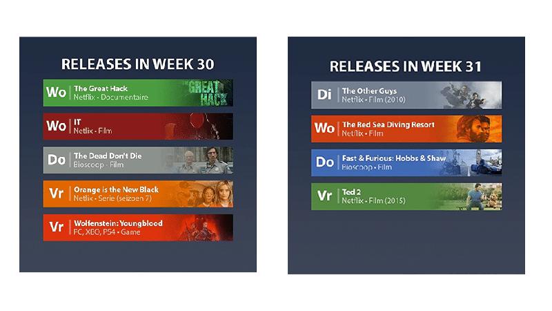 Tech Onderweg - releases