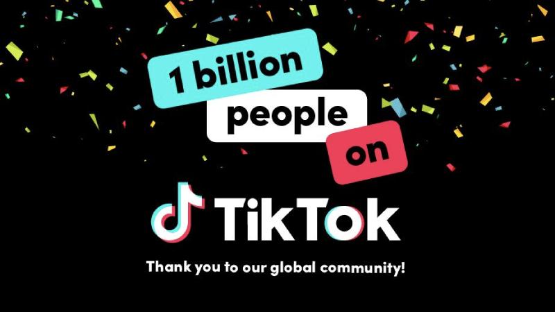 TikTok heeft meer dan 1 miljard actieve gebruikers