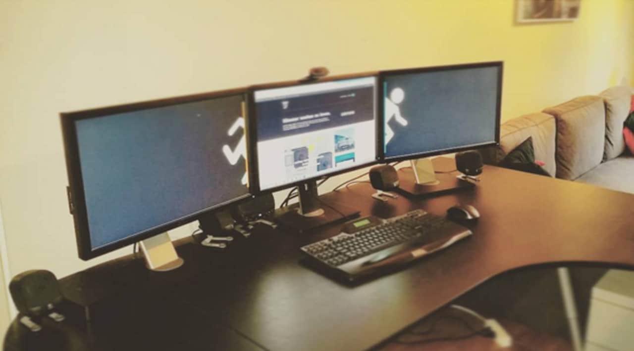 Mijn computer setup