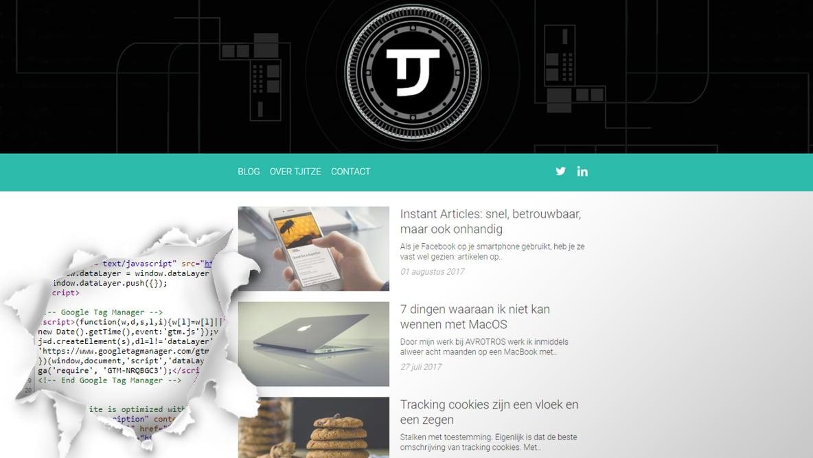 Zo gebruik ik Google Tag Manager op TJToday nl - Tjitze Zijlstra