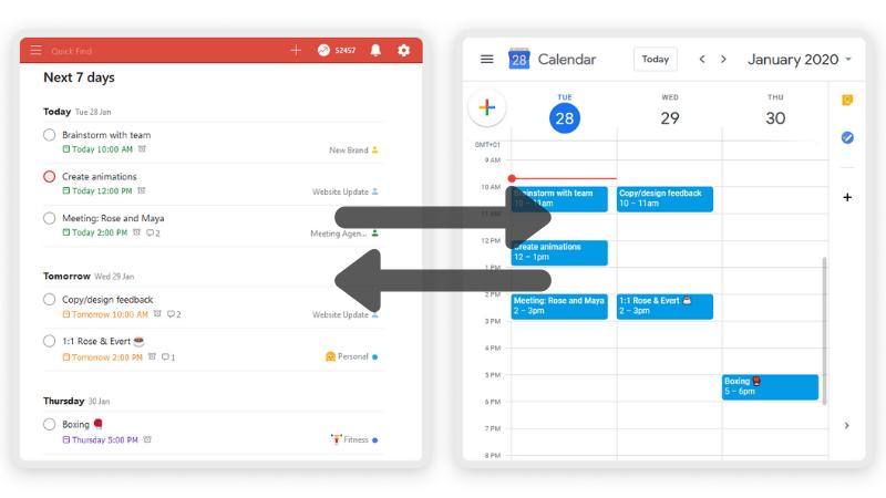 Zo koppel je Todoist aan Google Calendar