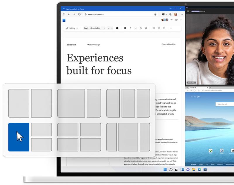 Windows 11-splitscreenmodus