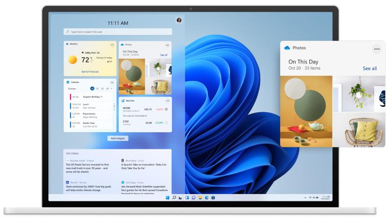 Windows-widgets