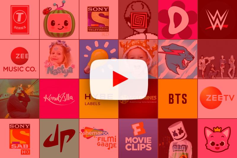 Top 25 populairste YouTube-kanalen ter wereld in 2021